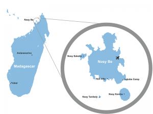 map nosy komba
