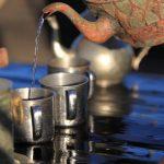 Salon de thé a bord des boutres Malgaches